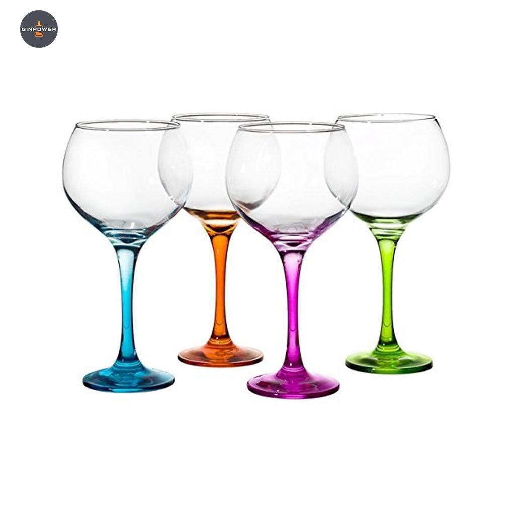 330y65 gin glas verschiedene farben 4er set. Black Bedroom Furniture Sets. Home Design Ideas