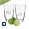 Gin Gläser Leonard Set