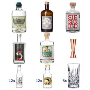 Gin Mini Tasting 12x12x6