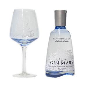 Gin Mare mit Glas