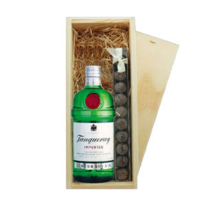 Tanqueray Holzkiste